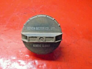 96 97 98 99 00 HONDA CIVIC GAS FUEL FILLER CAP LID OEM ORIGINAL HONDA MOTOR CO.