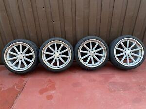 1) 20x9.0 Vossen VFS-1 Silver Hybrid Forged Wheel Rim fits BMW 3 5 Chevrolet