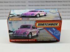 Matchbox 1962 Volkswagen Beetle Mattel 2020 New Metal Parts