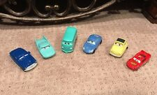 McDonalds Disney Pixar Cars Lot Of 6 Toys