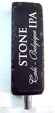 Stone Brewing San Diego, CA CALI-BELGIQUE IPA Beer tap handle gear shift knob