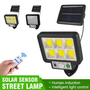 Solar Light Outdoor Human Sensor Wall Street Lamp Garden Lawn Split Type Light++