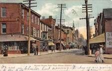 market street chester  pennsylvania L4363 antique postcard