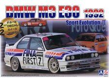 AOSHIMA BEEMAX KIT 1:24 AUTO BMW M3 E30 SPORT EVOLUTION II FINA 1992 B24019
