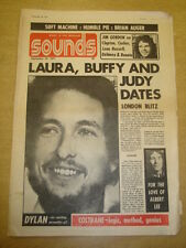 SOUNDS 1971 SEP 18 BOB DYLAN SOFT MACHINE HUMBLE PIE CROSBY NASH ALBERT LEE