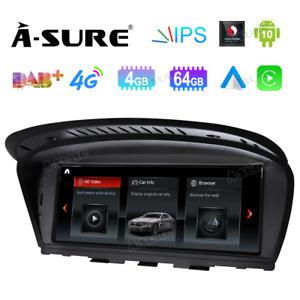 für BMW 3er E60 E61 E63 M5 5er E90 E91 E92 CIC Touchscreen Android 10 GPS NAVI