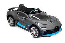 Kidcars Bugatti Divo Kinder Elektro Auto metallic Lack 2x35W 12V Kinderfahrzeug
