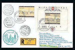 78335) LH 1.Nacht-LP  München - Berlin Tegel 4.11.91, Reco Österreich Enklave