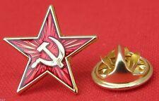 Hammer & Sickle Red Star Communist Pin Badge Revolution Socialist USSR Brooch