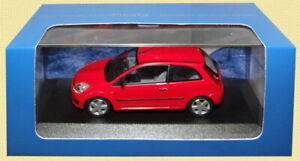 DEALER MODELS FORD FIESTA 3 or 5 door model car 2002 red blue silver green 1:43