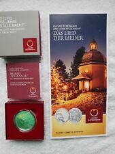 200 Jahre Stille Nacht 20 Euro - Silbermünze PP mit Folder