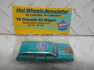 Hot Wheels 16th Annual Nationals Green '70 Chevelle SS Wagon Baggie Car