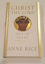 AUTOGRAPHED SIGNED Christ the Lord Out of Egypt Anne Rice 1st COA Mint Hardcover