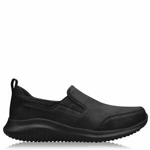 Skechers Flection Sneakers Mens Gents Everyday Slip On Padded Ankle Collar Shock