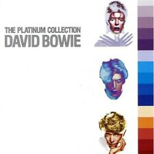 "David BOWIE ""PLATINUM COLLECTION"" 3 CD BOX Merce Nuova"