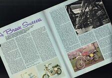 vintage FANTIC MOTORCYCLE Article /Photos / Pictures:125 CHOPPER, GT Super Six 6