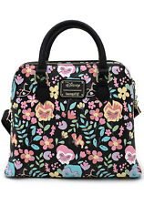 New Loungefly X Disney Alice in Wonderland Flowers Aop Crossbody Bag