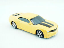 1/64 CHEVROLET CAMARO METAL DIECAST CAR YELLOW COLOUR TOY GIFT COLLECTION NEW