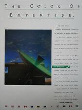 7/1990 lucas pub aerospace rf microwave defense electronics radar land rover ad