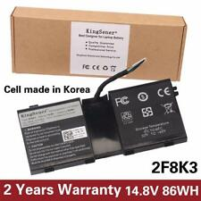 Kingsener Korea Cell 2f8k3 Laptop Battery for Dell Alienware 17 18(alw18d-17