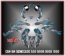Can-Am Renegade 500 800r 800x 800xc1000  SEMI CUSTOM GRAPHICS KIT race3