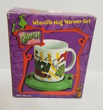 How The Grinch Stole Christmas Whoville Mug Warmer Set Ceramic New