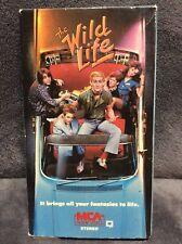 The Wild Life vhs MCA Christopher Penn Rick Moranis *Ex Rental* rare htf