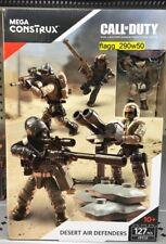 *MEGA CONSTRUX CALL OF DUTY* Desert Air Defenders Construction Set #FPY19