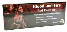 Scale 75 Blood & Fire - Red Colors Paint Set - 38755
