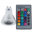 MR16/GU10/E27 4W 16 colores cambiantes Regulable RGB LED bombilla Spot Lámpara