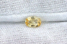 .69 Carat Oval Natural Golden Yellow Sapphire Gem Stone Gemstone B22A1
