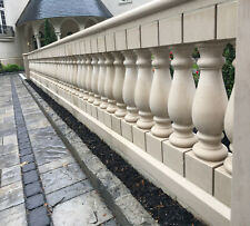 Marble Balustrades. Hand made pillars, rails and balusters (1 foot) - limaxin