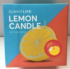 SUNNYLIFE LEMON CANDLE SMALL - FREE SHIPPING