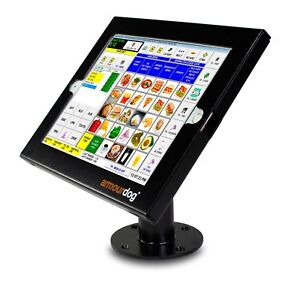armourdog® secure tablet POS kiosk for iPad 2017/8, Air 1/2 and Pro 9.7 in black