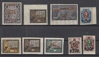 BE5741/ RUSSIA – 1922 / 1923 MINT SEMI MODERN LOT – CV 415 $