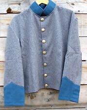 civil war confederate reenactor infantry shell jacket  50