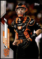 Buster Posey 2020 Topps Short Print Variations 5x7 #111 /49 Giants