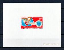 DELUXE 988 HAUTE UPPER VOLTA BURKINA FASO 1970 INDEPENDANCE PROOF IMPERF MNH
