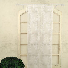 Tenda finestra Pizzo Poliestere Shabby Chic Poly-Ciel Collection 60 x 240 Colore