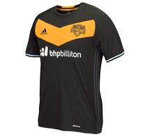 Adidas Soccer MLS Men's Houston Dynamo Short Sleeve Team Jersey, Black