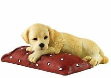 Labrador Dog Figurine - Border Fine Arts Chilling Out A27429  Golden Pup