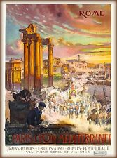 ANCIENT ROME SCENIC POSTER 24x36 ASSAF TRAVEL ITALY HISTORY EUROPE 34193