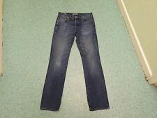 """Jack Jones Clark Original Jeans Taille 32"""" Jambe 34"""" Délavé Bleu Foncé Jean Homme"""