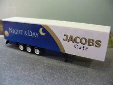 1/87 Herpa Albedo Koffer-Auflieger 3achs Jacobs Café Night & Day