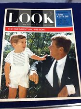 Look Magazine The President and his son December 3rd, 1963