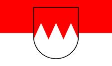 Oberfranken Flagge 150 x 90 cm wetterfest Fahne Ösen innen außen Hissflagge Flag