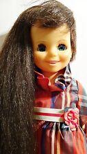 Ideal Mia Vintage 1970 Doll Growing Hair Velvet Chrissy