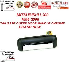 MITSUBISHI L200 1996-2006 REAR EXTERIOR OUTER TAILGATE BOOT DOOR HANDLE CHROME