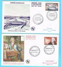 B3050 - FRANCE - 2 Enveloppes 1er Jour de 1956
