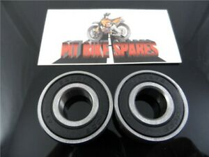 6202 15mm Pit Bike Front Or Rear Wheel Bearings (pair) SDG Wheels